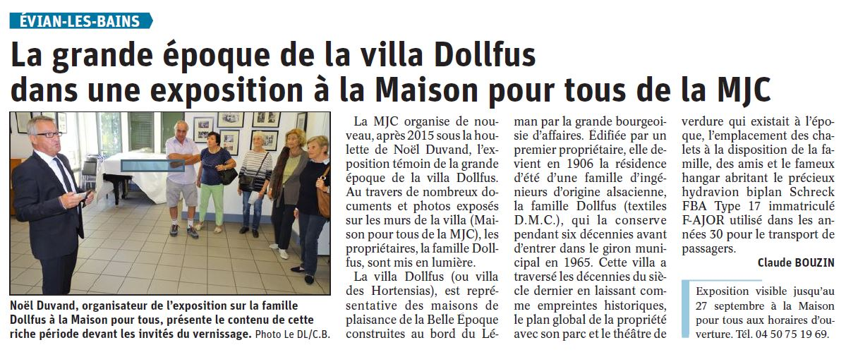 DL 24 SEPTEMBRE 19 - EXPO DOLLFUS